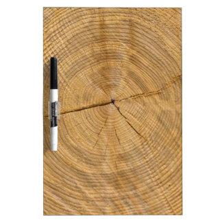 tree trunk dry erase whiteboard