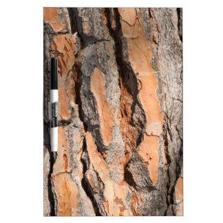 tree trunk dry erase board