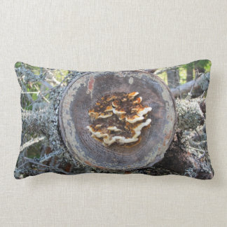 Tree Trunk Lumbar Pillow
