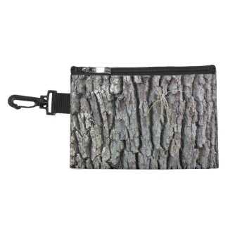Tree Trunk Texture Accessories Bag