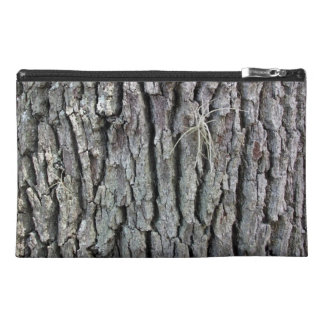 Tree Trunk Texture Travel Accessory Bags