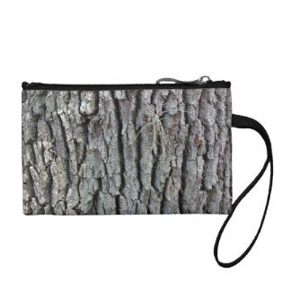 Tree Trunk Texture Coin Wallet