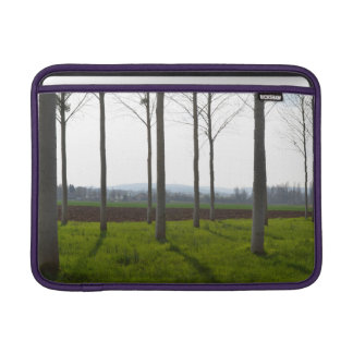 Tree trunks and the French countryside Sleeve For MacBook Air