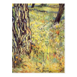 Tree trunks by Vincent van Gogh Postcard