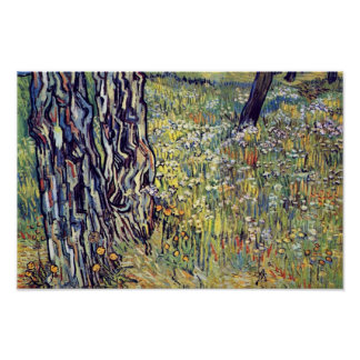 Tree Trunks By Vincent Van Gogh Poster