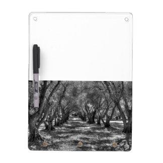 Tree Tunnel Dry Erase Board