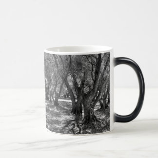 Tree Tunnel 11 Oz Magic Heat Color-Changing Coffee Mug