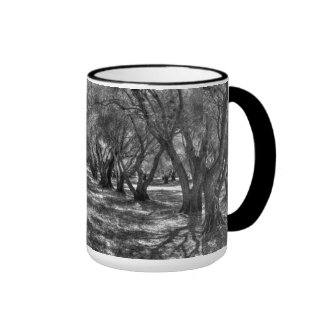 Tree Tunnel Ringer Coffee Mug