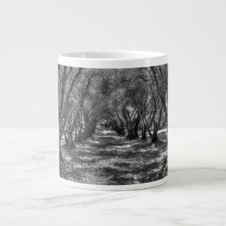 Tree Tunnel 20 Oz Large Ceramic Coffee Mug