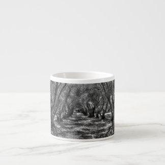 Tree Tunnel 6 Oz Ceramic Espresso Cup