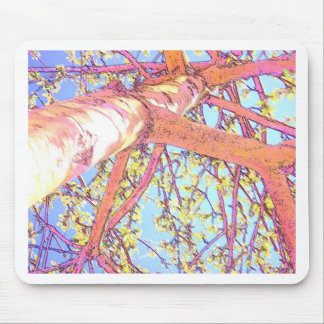 Tree Underneath In Pastels Mouse Pad