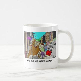 Tree Vs Chain Saw Funny Rick London Gifts Coffee Mug