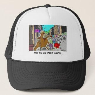Tree Vs Chain Saw Funny Rick London Gifts Trucker Hat