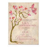 Tree Wedding anniversary Photo invitation