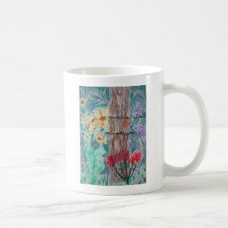 Tree & Wild Flowers Mugs