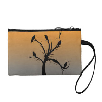 Tree with Crows Coin Purse