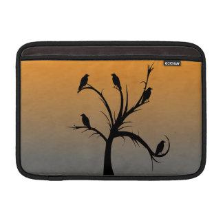 Tree with Crows MacBook Air Sleeves