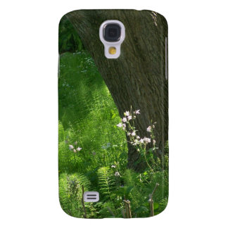 Tree with Ferns Galaxy S4 Cover