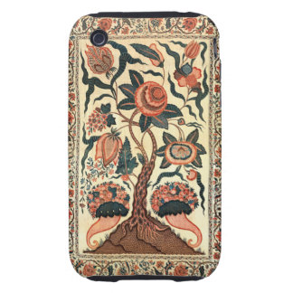 Tree with Flowers and Horns of Plenty India 1750 Tough iPhone 3 Cover
