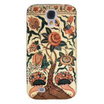 Tree with Flowers and Horns of Plenty, India 1750 Samsung Galaxy  S4 Case at Zazzle