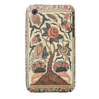 Tree with Flowers and Horns of Plenty India 1750 iPhone 3 Case