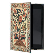 Tree With Flowers And Horns Of Plenty, India 1750 Ipad Mini Case at Zazzle