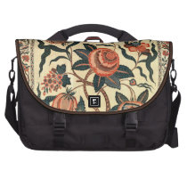 Tree with Flowers and Horns of Plenty, India 1750 Laptop Bags at  Zazzle