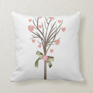 Tree with hearts American MoJo Pillows