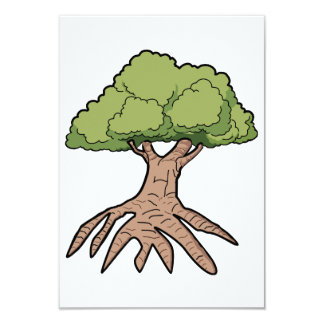 Tree With Long Roots Invitations
