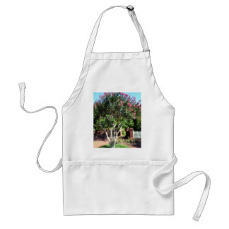 Tree with Pink Blooms Adult Apron