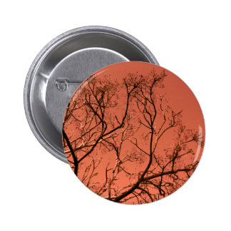 Tree with red sky pin