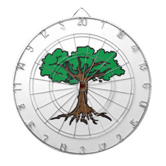 TREE WITH ROOTS DART BOARD
