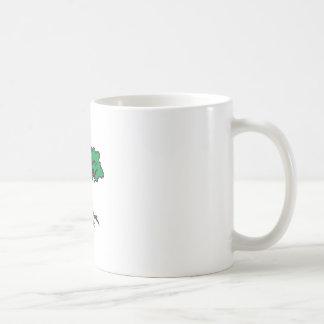 TREE WITH ROOTS CLASSIC WHITE COFFEE MUG