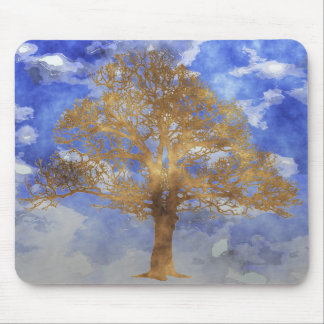 TREE WITH SKY MOUSEPADS