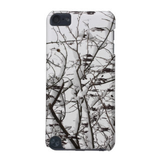 tree with snow iPod touch (5th generation) cover
