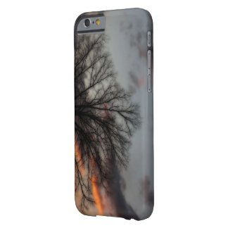 Tree With Sunset Unique iPhone Case