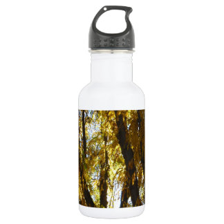 Tree with Yellow Leaves Water Bottle