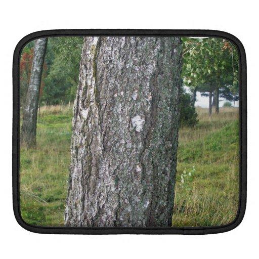 Tree Wood Texture Sleeve For iPads