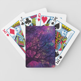 Tree x Space Bicycle Playing Cards