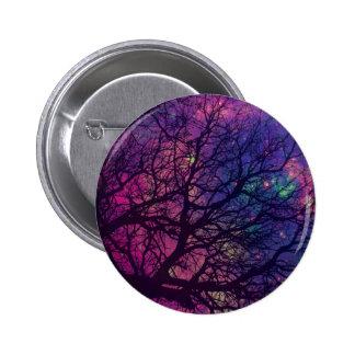 Tree x Space 2 Inch Round Button