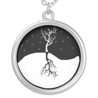 Tree Yin Yang Necklace