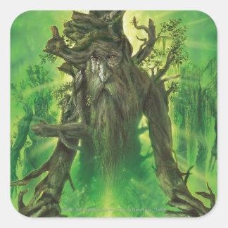 Treebeard Pegatina Cuadrada