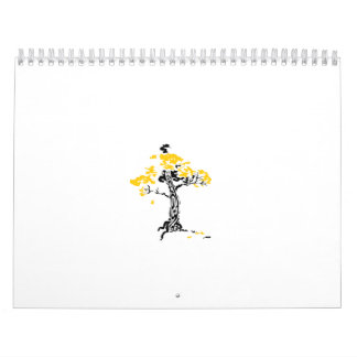 TreeClub_2color Calendario De Pared