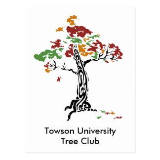 TreeClub_4color, club de Towson UniversityTree Postales