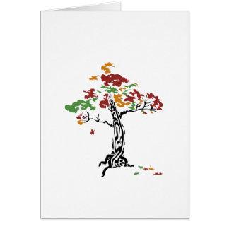 TreeClub_4color Tarjeta De Felicitación