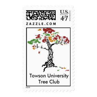 TreeClub_4color, Towson UniversityTree Club Postage