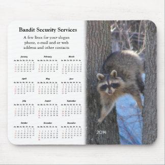 Treed Coon promotional calendar ~ mousepad