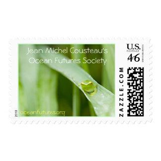 Treefrog Postage Stamp