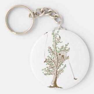 Treehouse Keychain