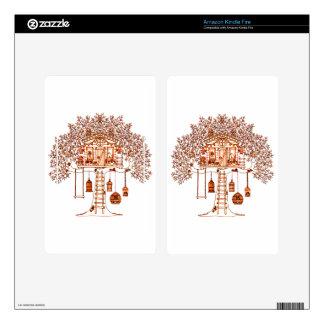 Treehouse Kindle Fire Skins